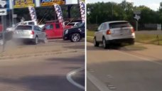 DWI Units Investigating Hit-and-Run Driver in Shocking Video