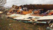 EF-0 Tornado Leaves 3 Hurt, Homes Flipped, Destroyed