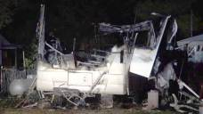 Couple Escapes RV Fire in Kaufman County, Dog Killed