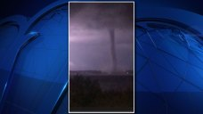 Tornadoes Illuminated by Lightning in NBC 5 Viewer Videos