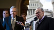 Senate Sets Up Showdown Votes on Shutdown Plans