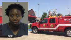 Woman Douses Bank Lobby in Gasoline Then Demands Cash