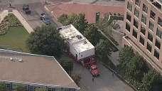 Crews Relocate Fort Worth Restaurant