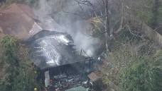 Firefighters Battle House Fire in Dallas Tuesday