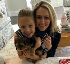 Meredith Land Surprises Daughter With Rescue Puppy