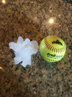 Your Hail Photos - April 11, 2016