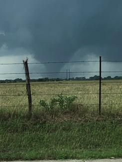 Pictures of Funnel Clouds on May 29, 2019