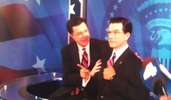 Stephen Colbert's Wax Figure Unveiled in D.C.