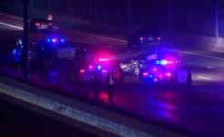 Dallas PD Vehicle Involved in Multi-Car Crash on U.S. 75
