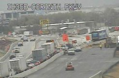 NB I-35E Reopens After Crash in Corinth