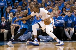 Photos: Thunder Eliminate Mavs from Playoffs With 118-104 Loss