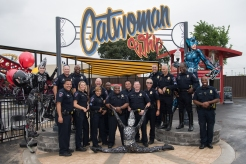 Arlington PD Saves Gotham, First Riders At Six Flags Expansion