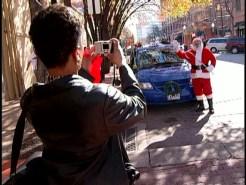 Santa Drives a Dallas Taxi?