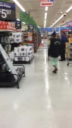 Lavon Walmart after terrifying hailstorm