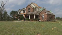 Cleburne Resident Feels Lucky to Survive Tornado