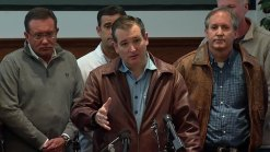 Raw Video: Cruz, Paxton Speak at Rowlett News Conference