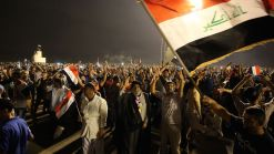 Arrests Ordered as Baghdad Protesters Stage Sit-In