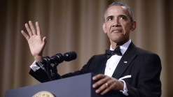 'Obama Out': President Takes Last Shots at DC