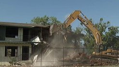 Grand Avenue Eyesore Demolished