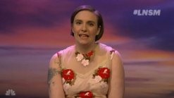'Late Night': Dunham's Message to Younger Self