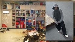 Man Sought in FW Elementary School Arson, Vandalism