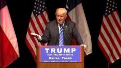 Donald Trump's Dallas Speech