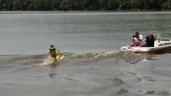 Toddler Water-Skis Better Than You