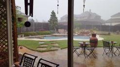 Aw hail! My yard!
