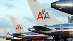 April Traffic Down at American Airlines