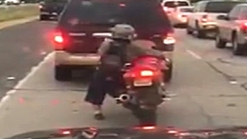 Video of 'Little Person' Riding Motorcyle Goes Viral