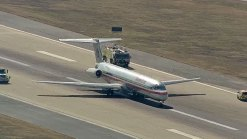 AA Plane Makes Emergency Landing at D/FW Airport