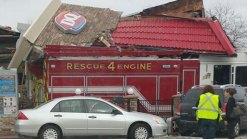 Driver of Fire Truck That Hit DQ Says He Was Choking: Police