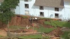 Granbury Apt. Owner Vows to Repair Landslide Damaged Bldg.