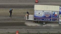 I-35E Back Open in Denton After Crash, Fuel Spill