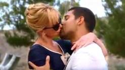 "Melanie Griffith's Sexy Kiss On ""Raising Hope"""