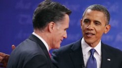 Obama, Romney Hunker Down at Debate Camps
