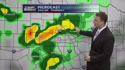 Storms Through Friday
