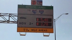 Consumer Wonders About Toll Lane Price Charges