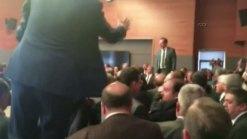 Turkey Lawmakers Brawl in Parliament