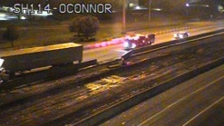 Texas 114 Shut Down in Irving After Semi Crash