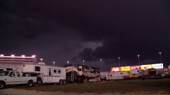 Fans at Texas Motor Speedway Brace for Storms