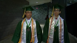 Twins Graduate as High School Valedictorian, Salutatorian