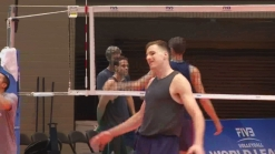 Team USA Volleyball in Dallas Preparing for Olympics