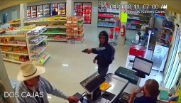 Mexico Store Robbery Caught on Tape