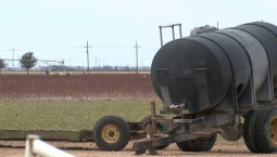 Drought Affecting West Texas Farmers' Crops