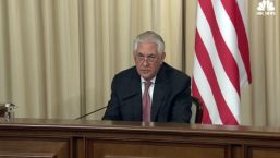 Tillerson: US and Russia Continue to Disagree on Syria