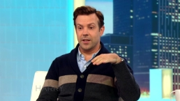 Jason Sudeikis and Harry Discuss Newborn Daisy's Birth
