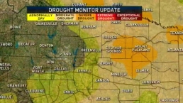 Level of Drought Increasing in Parts of Texas