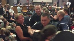 Chaos at Charlottesville City Council Meeting