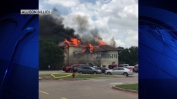 Viewer Videos: Colleyville Fire